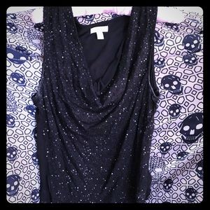 Sequinned Tank